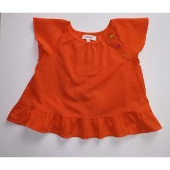 Vêtements Fille Chemises manches courtes Catimini Haut été Catimini 5 ans Orange