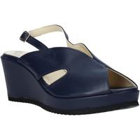Chaussures Femme Sandales et Nu-pieds Esther Collezioni ZB 115 Bleu