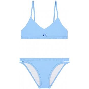 Vêtements Fille Maillots de bain 2 pièces Seafolly Maillot de bain 2 pièces uni SUMMER ESSENTIAL Bleu
