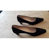 Chaussures Femme Escarpins Perlato ESCARPIN VELOUR NOIR Noir