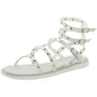 Chaussures Femme Sandales et Nu-pieds Bugatti Sandales  cuir ref_45815 Blanc Argenté