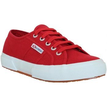 Chaussures Femme Baskets basses Superga 2750 toile Femme Rouge Rouge