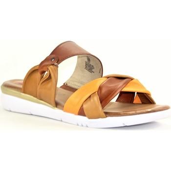 Chaussures Femme Mules Jana JANA4245 COGNAC ORANGE