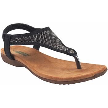 Chaussures Femme Sandales et Nu-pieds Amarpies Lady   19081 ABZ noir Noir