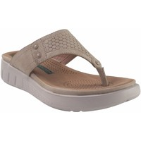 Chaussures Femme Tongs Amarpies Lady   19062 ABZ Beig Blanc