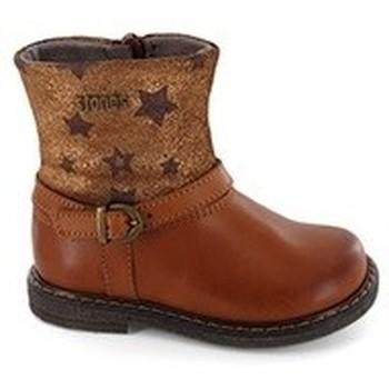 Chaussures Fille Bottes Stones and Bones GIAN Cognac Marron