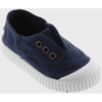 Chaussures Baskets basses Victoria Inglesa Elastico Marino Bleu
