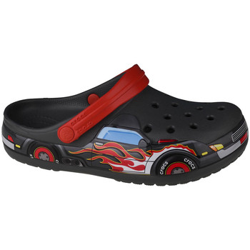Chaussures Enfant Sabots Crocs Fun Lab Truck Band Clog Grise