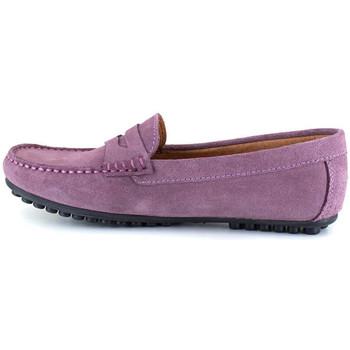 Chaussures Femme Mocassins J.bradford JB-LEVANTE MAUVE Violet