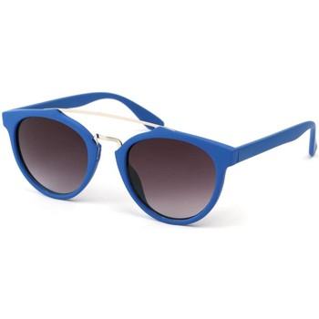 Montres & Bijoux Lunettes de soleil Eye Wear Lunettes Soleil Girl avec monture Bleu Bleu