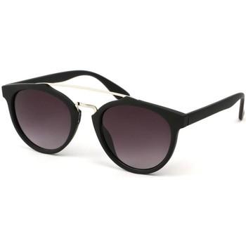 Montres & Bijoux Lunettes de soleil Eye Wear Lunettes Soleil Girl avec monture mat noire Noir