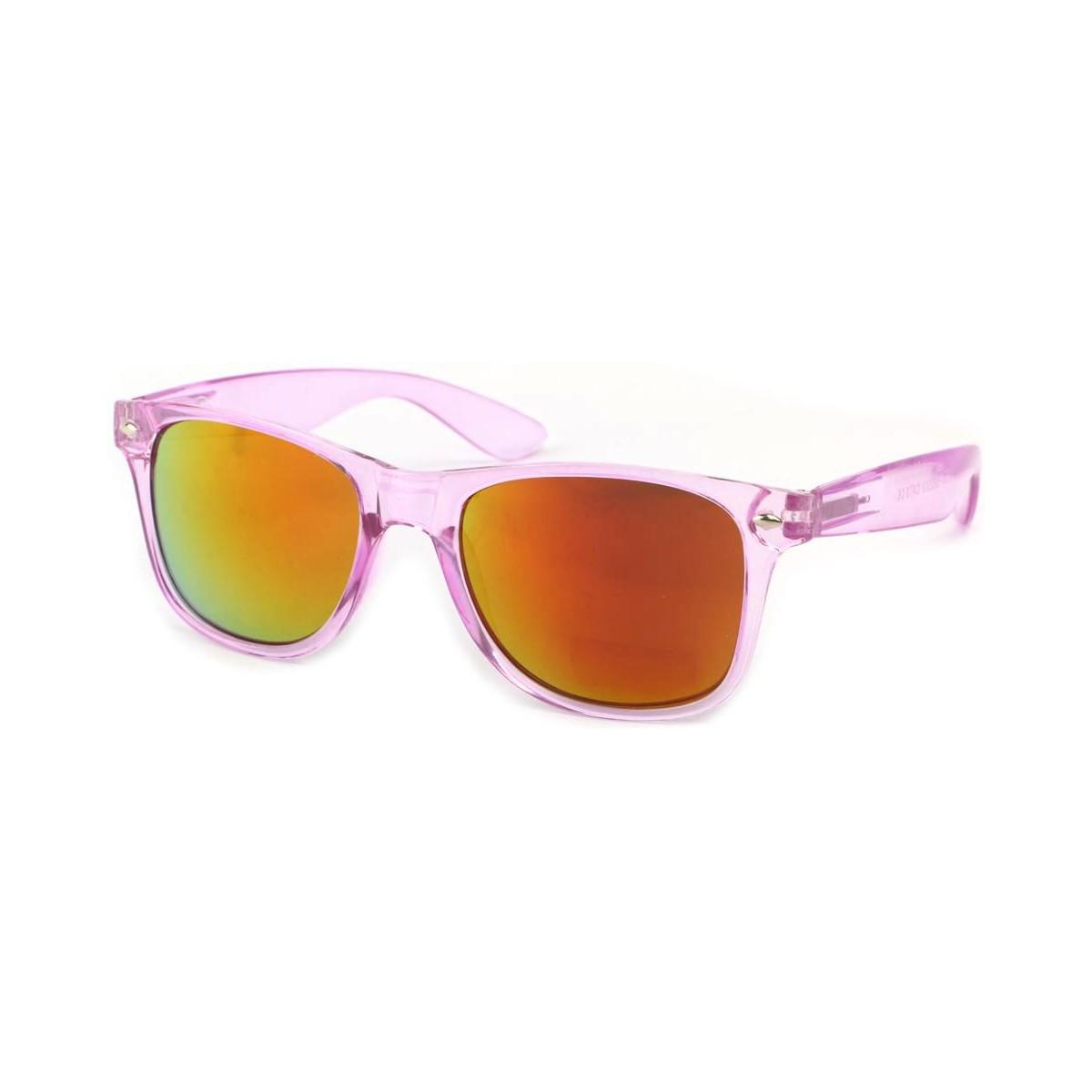 Eye Wear Lunettes Soleil Aero avec monture violette Rose