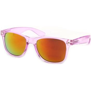 Lunettes de soleil Eye Wear Lunettes Soleil Aero avec monture violette Rose 350x350