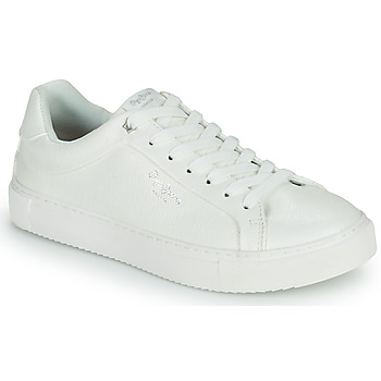 Chaussures Femme Baskets basses Pepe jeans ADAMS COLLINS Blanc