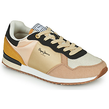 Chaussures Femme Baskets basses Pepe jeans ARCHIE LIGHT Beige