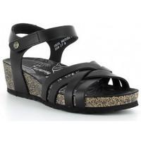 Chaussures Femme Sandales et Nu-pieds Panama Jack CHIA NATURE B2 Noir