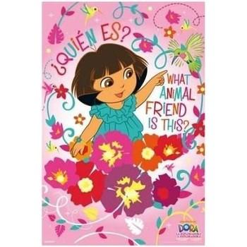 Maison & Déco Enfant Affiches, posters Dessins Animés Affiche rectangulaire Dora Rose