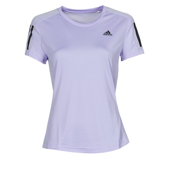 Vêtements Femme adidas bw1401 sneakers boys blue boots adidas Performance OWN THE RUN TEE Ton violet
