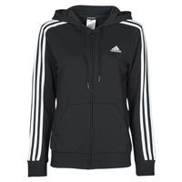 Vêtements Femme Sweats adidas Performance W 3S FT FZ HD Noir