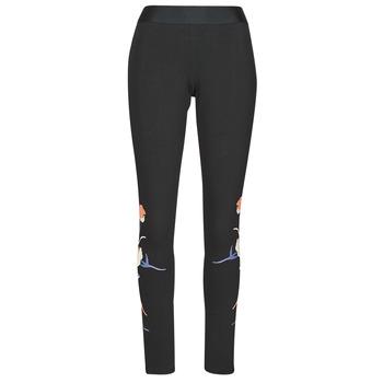 Vêtements Femme Leggings adidas Performance FLORL GFX TIGHT Noir