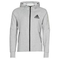 Vêtements Homme Vestes de survêtement adidas Performance M MT FZ HD Bruyere gris moyen