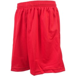 Vêtements Garçon Shorts / Bermudas Tremblay Poly rge uni shortfoot jr Rouge