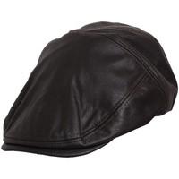 Accessoires textile Homme Casquettes Chapeau-Tendance Casquette façon vieux cuir T57 Marron