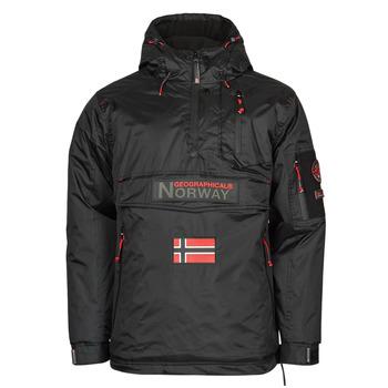 Vêtements Homme Parkas Geographical Norway BARKER Noir