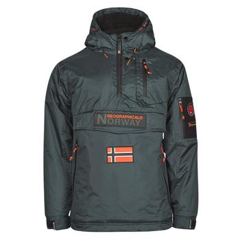 Vêtements Homme Parkas Geographical Norway BARKER Gris foncé