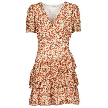 Vêtements Femme Robes courtes Moony Mood ORNAMA Blanc / Multicolore