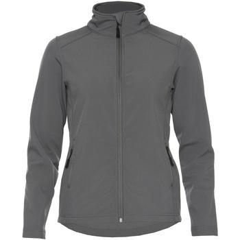 Vêtements Femme Vestes Gildan SS800L Gris