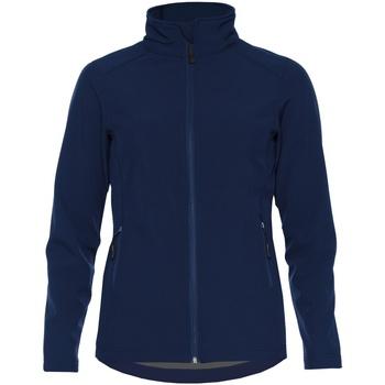 Vêtements Femme Vestes Gildan SS800L Bleu marine