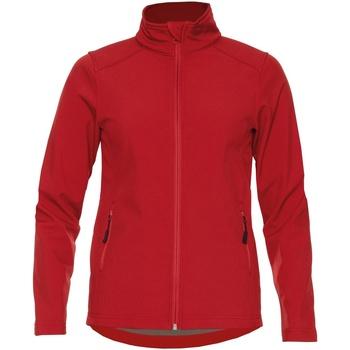 Vêtements Femme Vestes Gildan SS800L Rouge