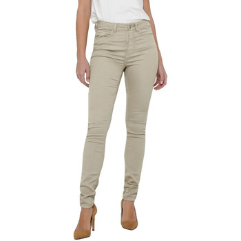 Vêtements Femme Jeans slim Jacqueline De Yong 15211785 Beige