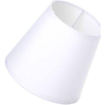 Maison & Déco Abats jours et pieds de lampe Retro Petit Abat-jour Blanc Blanc