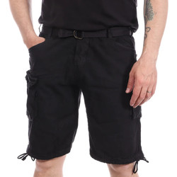 Vêtements Homme Shorts / Bermudas Paname Brothers PB-BRIO Bleu
