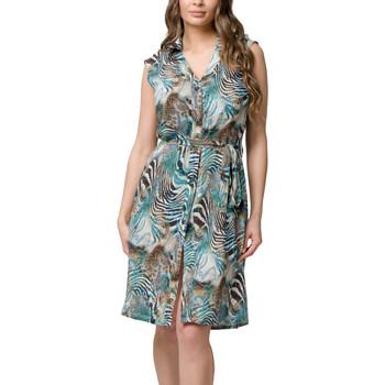 Vêtements Femme Robes courtes Luna Robe de plage chemisier sans manches Casablanca  Splendida Unique