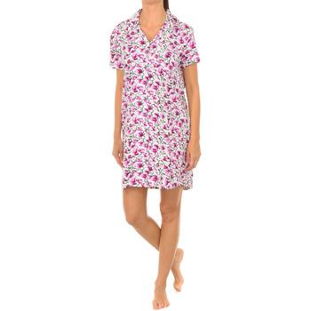 Vêtements Femme Pyjamas / Chemises de nuit J And J Brothers Chemise de nuit à manches courtes J&J Brothers Multicolore