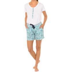 Vêtements Femme Pyjamas / Chemises de nuit J And J Brothers Pyjama à manches courtes J&J Brothers Multicolore
