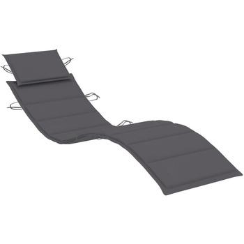 Maison & Déco Coussins Vidaxl Coussin de chaise longue Anthracite
