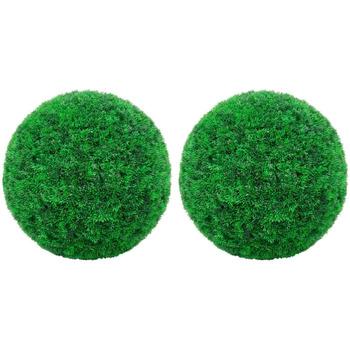 Maison & Déco Plantes artificielles Vidaxl Boule de buis artificielle Vert