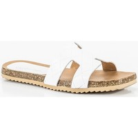 Chaussures Femme Mules Penelope 6028 blanc