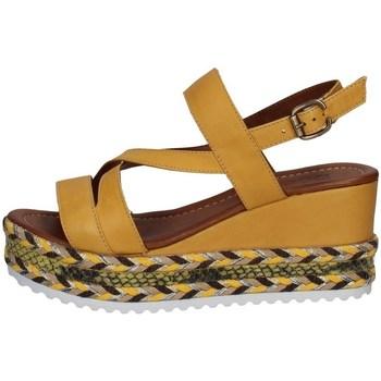 Chaussures Femme Sandales et Nu-pieds Bueno Shoes Q6002 JAUNE