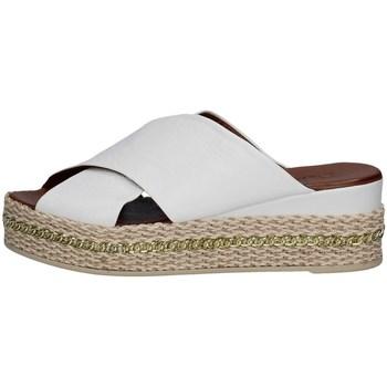 Chaussures Femme Espadrilles Bueno Shoes Q5907 BLANC