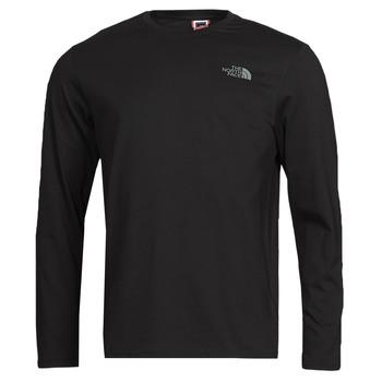 Vêtements Homme T-shirts manches longues The North Face L/S EASY TEE Noir