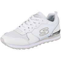 Chaussures Femme Baskets basses Skechers Baskets  ref 52806 White Blanc