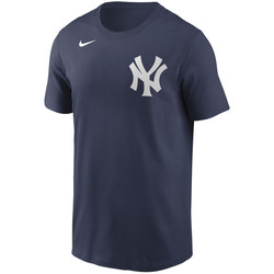 Vêtements Homme T-shirts manches courtes Nike T-Shirt MLB New York Yankees N Multicolore