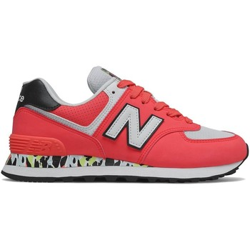 Chaussures Femme Baskets basses New Balance 574 Rouge