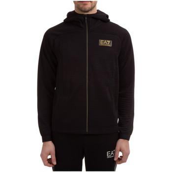 Vêtements Homme Sweats Ea7 Emporio Armani Sweat à capuche Noir