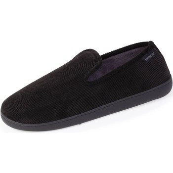 Chaussures Homme Chaussons Isotoner Chaussons charentaises Noir